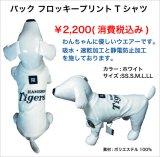 阪神タイガースシャドーストライプTシャツ 白
